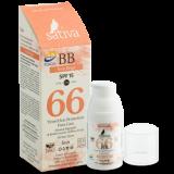 BB - крем ухаживающий солнцезащитный с тонирующим эффектом №66 Rose Beige, 30 мл.